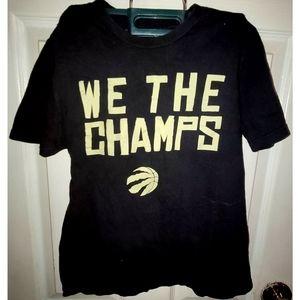 """We The Champs"" Raptors Tee"